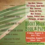 Rocky Mountain Book & Paper Fair presented by  at ,