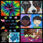 Kids Summertime Paint & Create Camp ( FREE Shirt!) presented by Painting with a Twist: Downtown Colorado Springs at Painting with a Twist Colorado Springs Downtown, Colorado Springs CO