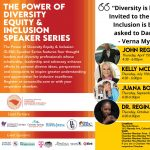 The Power of Diversity Equity & Inclusion Speaker Series presented by  at The Gold Room, Colorado Springs CO