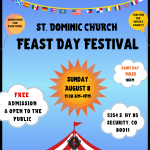 St. Dominic Feast Day Festival presented by  at ,