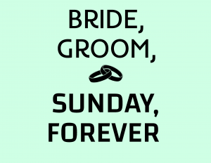 'Bride, Groom, Sunday, Forever' presented by Counterweight Theatre Lab at ,