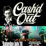 Cash'd Out: A Johnny Cash Experience presented by Stargazers Theatre & Event Center at Stargazers Theatre & Event Center, Colorado Springs CO