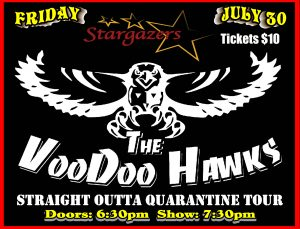 The Voodoo Hawks: Straight Outta Quarantine presented by Stargazers Theatre & Event Center at Stargazers Theatre & Event Center, Colorado Springs CO