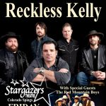 Reckless Kelly presented by Stargazers Theatre & Event Center at Stargazers Theatre & Event Center, Colorado Springs CO