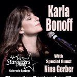 Karla Bonoff presented by Stargazers Theatre & Event Center at Stargazers Theatre & Event Center, Colorado Springs CO