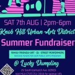 Summer Fundraiser for Knob Hill Urban Arts District presented by Knob Hill Urban Arts District at ,