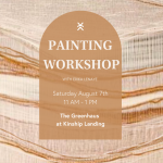 Curated Painting Workshop presented by Kinship Landing at Kinship Landing, Colorado Springs CO