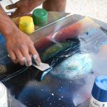 Learn the Art of Spray Painting Class presented by Academy Art & Frame Company at Academy Frame Company, Colorado Springs CO