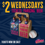 $2 Wednesday vs. Billings Mustangs Wednesday vs. Billings Mustangs presented by Rocky Mountain Vibes Baseball at UCHealth Park, Colorado Springs CO