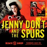Jenny Don't and the Spurs presented by The Black Sheep at The Black Sheep, Colorado Springs CO