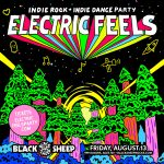 Electric Feels: Indie Rock + Indie Dance Party presented by The Black Sheep at The Black Sheep, Colorado Springs CO