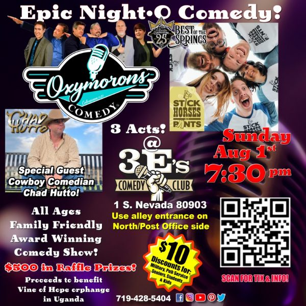 Epic Night-O Comedy presented by Oxymorons Comedy at ,