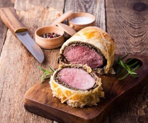 Arts Month Beef Wellington Demo presented by Gather Food Studio & Spice Shop at Online/Virtual Space, 0 0