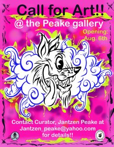 CALL FOR ARTISTS: The PEAKE gallery presented by CALL FOR ARTISTS: The PEAKE gallery at ,