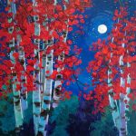 'Aspen Show' at Art Walk presented by Laura Reilly Fine Art Gallery and Studio at Laura Reilly Studio, Colorado Springs CO