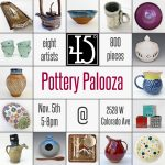 Pottery Palooza presented by 45 Degree Gallery at 45 Degree Gallery, Colorado Springs CO