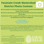 Fountain Creek Watershed District Photo Contest presented by Fountain Creek Watershed District at Online/Virtual Space, 0 0