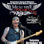 Micki Free: Blues Rock presented by Stargazers Theatre & Event Center at Stargazers Theatre & Event Center, Colorado Springs CO