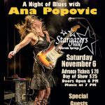 Ana Popovic presented by Stargazers Theatre & Event Center at Stargazers Theatre & Event Center, Colorado Springs CO