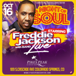 Freddie Jackson presented by Pikes Peak Center for the Performing Arts at Pikes Peak Center for the Performing Arts, Colorado Springs CO