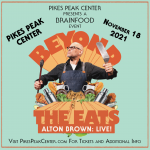 Alton Brown: Beyond the Eats presented by Pikes Peak Center for the Performing Arts at Pikes Peak Center for the Performing Arts, Colorado Springs CO