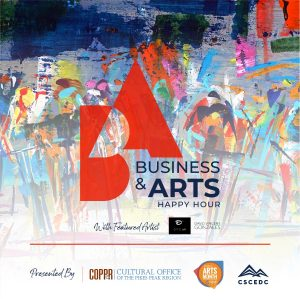 Business + Arts Happy Hour presented by Cultural Office of the Pikes Peak Region at The Gold Room, Colorado Springs CO