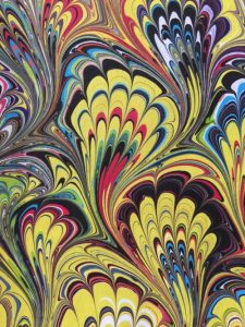 Paper Marbling Demonstration presented by Ormao celebrates 30 years of expanding the boundaries of dance at ,