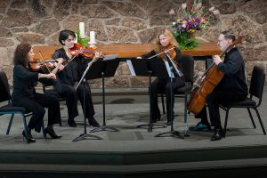 Chamber Music with the Veronika String Quartet located in Colorado Springs CO