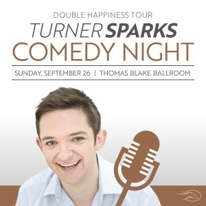 Turner Sparks Comedy Night presented by Peak Radar Live: Blues on the Mesa Festival at ,