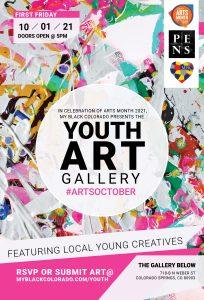 Youth Art Gallery presented by My Black Colorado at The Gallery Below, Colorado Springs CO