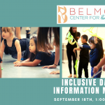 Inclusive Dance Program Community Meeting presented by Belmont Center for Performing Arts at ,