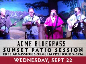 Acme Bluegrass presented by Boot Barn Hall at Boot Barn Hall at Bourbon Brothers, Colorado Springs CO