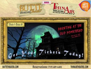 'Haunting at the Old Homestead' presented by Improv Comedy Show at Butte Theatre, Cripple Creek CO