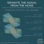 Philosophy in the City presented by UCCS Presents at UCCS Downtown, Colorado Springs CO
