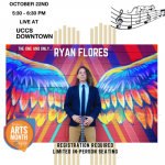 Ryan Flores presented by UCCS Presents at UCCS Downtown, Colorado Springs CO