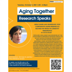 Aging Together: Research Speaks presented by UCCS Presents at UCCS Downtown, Colorado Springs CO