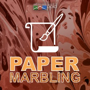 Paper Marbling Class presented by Pikes Peak Library District at PPLD - Rockrimmon Branch, Colorado Springs CO