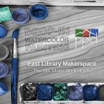 Drop-in Watercolor Painting presented by Pikes Peak Library District at PPLD - East Library, Colorado Springs CO