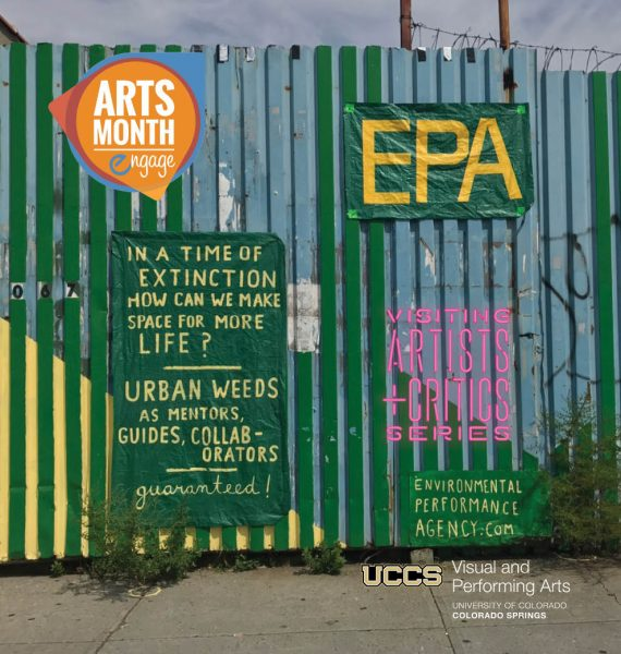 'EPA: Undesirable Plants Declare: A Participatory Public Review' presented by UCCS Visual and Performing Arts: Visual Art Program at GOCA 121, Colorado Springs CO