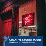 Creative Studio Tours presented by Colorado Springs Design Week at The Machine Shop, Colorado Springs CO