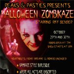 Halloween Zombikaze Burlesque presented by Peaks and Pasties at The Gold Room, Colorado Springs CO