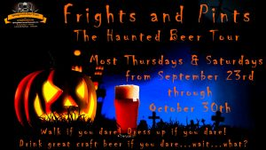 Frights and Pints: The Haunted Beer Tour presented by Home at ,