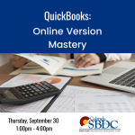 QuickBooks (Online Version): Mastering Part 2 presented by Pikes Peak Small Business Development Center at Pikes Peak Small Business Development Center (SBDC), Colorado Springs CO
