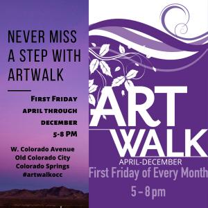 First Friday ArtWalk Old Colorado City presented by Historic Old Colorado City at Old Colorado City, Colorado Springs CO
