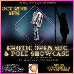 Poetry719 Festival: Erotic Open Mic & Showcase presented by Poetry 719 at The Gold Room, Colorado Springs CO