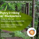 Poetry 719 Festival: Poetry & Hiking w/ Blackpackers presented by Poetry 719 at Palmer Park, Colorado Springs CO