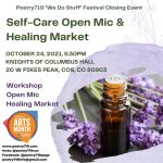 Poetry719 Festival: Self-Care/Self-Love Event presented by Poetry 719 at Knights of Columbus Hall, Colorado Springs CO