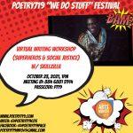Poetry719 Festival: Superheroes & Social Justice Writing Workshop presented by Poetry 719 at Online/Virtual Space, 0 0