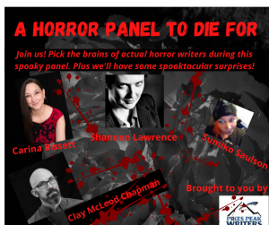 Special PPW October Event presented by Pikes Peak Writers at Online/Virtual Space, 0 0