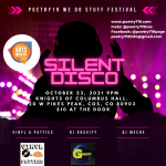 Poetry719 Festival: Silent Disco presented by Poetry 719 at Knights of Columbus Hall, Colorado Springs CO